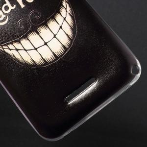 Gélový obal pre Sony Xperia E4g - úsmev - 3