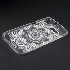 Gélový obal pre Sony Xperia E4g - henna - 3