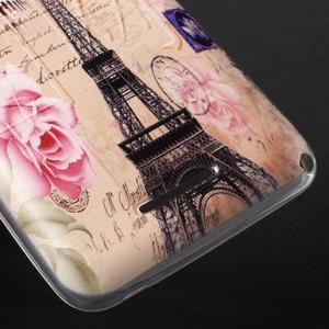 Gélový obal pre Sony Xperia E4g - Eiffelova veža - 3