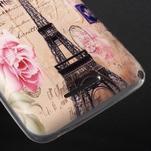 Gélový obal pre Sony Xperia E4g - Eiffelova veža - 3/5
