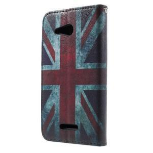 Peňaženkové puzdro na Sony Xperia E4g - UK vlajka - 3