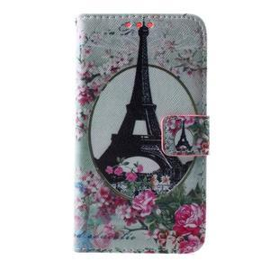 Peňaženkové puzdro pre Sony Xperia E4g - Eiffelova veža - 3