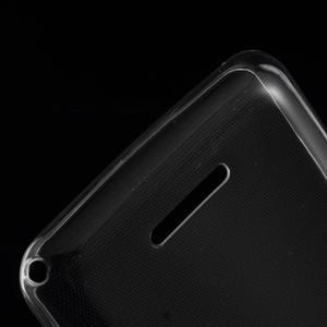 Ultra tenký gélový obal na Sony Xperia E4g - transparentný - 3