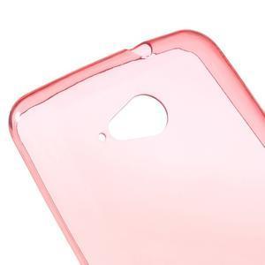 Ultra tenký gélový obal na Sony Xperia E4g -  červený - 3