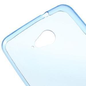 Ultra tenký gélový obal pre Sony Xperia E4g -  modrý - 3
