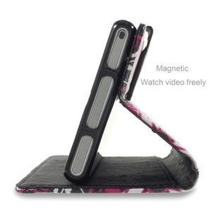 Standy peněženkové pouzdro Sony Xperia M2 Aqua - kouzelní motýlci - 3