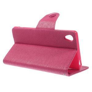Rose peněženkové pouzdro na Sony Xperia Z3 - 3