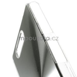Metalický kryt na Sony Xperia Z3 Compact - stříbrný - 3