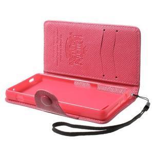 Rose peněženkové pouzdro na Sony Xperia Z3 Compact - 3