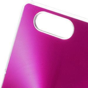 Metalický kryt pre Sony Xperia Z3 Compact - rose - 3