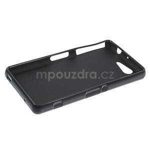 Černý matný gelový obal na Sony Xperia Z3 Compact - 3