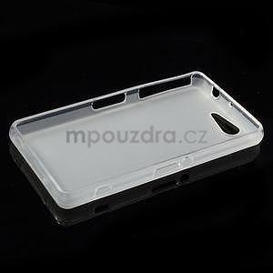 transparentné matný gélový obal pre Sony Xperia Z3 Compact - 3