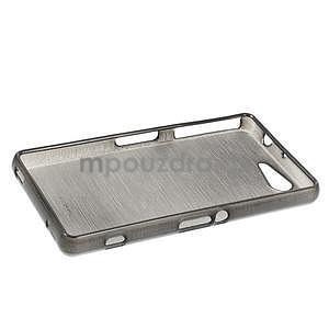 Brúsený obal pre Sony Xperia Z3 Compact D5803 - čierny - 3