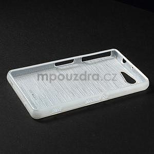 Broušený obal na Sony Xperia Z3 Compact D5803 - bílý - 3