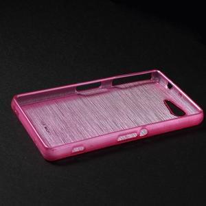 Brúsený obal pre Sony Xperia Z3 Compact D5803 - rose - 3