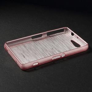 Broušený obal na Sony Xperia Z3 Compact D5803 - růžový - 3