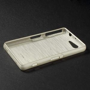 Brúsený obal pre Sony Xperia Z3 Compact D5803 - champagne - 3