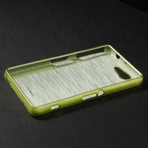 Brúsený obal pre Sony Xperia Z3 Compact D5803 - zelený - 3