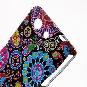 Gelový obal na Sony Xperia Z3 Compact - barevné kruhy - 3