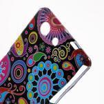 Gelový obal na Sony Xperia Z3 Compact - barevné kruhy - 3/4
