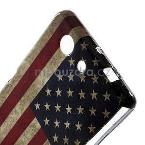 Gélový obal pre Sony Xperia Z3 Compact - US vlajka - 3
