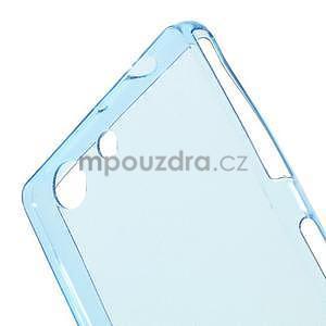 Ultra tenký slim obal na Sony Xperia Z3 Compact - modrý - 3