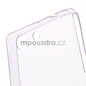 Ultra tenký slim obal na Sony Xperia Z3 Compact - fialový - 3