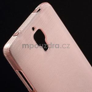 Brúsený kryt pre Xiaomi 4 MI4 - ružový - 3