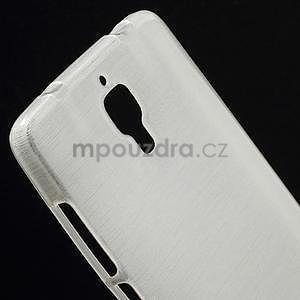 Broušený kryt na Xiaomi 4 MI4 - biely - 3