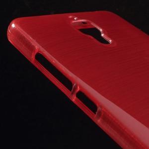 Brúsený kryt pre Xiaomi 4 MI4 - červený - 3