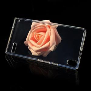 Gélové puzdro na Huawei Ascend P6 - transparentný - 3