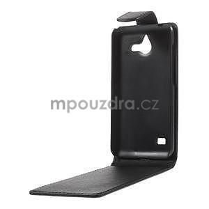 Kožené flipové puzdro na Huawei Ascend Y550 - 3