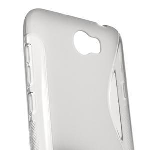 S-line gelový obal na mobil Huawei Y5 II - šedý - 3