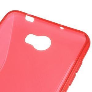 S-line gelový obal na mobil Huawei Y5 II - červený - 3