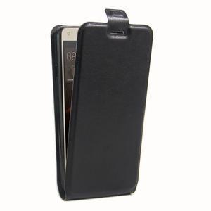 Flipové PU kožené puzdro na Huawei Y5 II - čierne - 3
