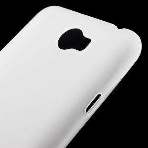Matný gelový obal na telefon Huawei Y5 II - bílý - 3