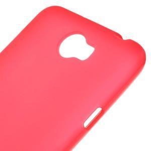 Matný gelový obal na telefon Huawei Y5 II - červený - 3