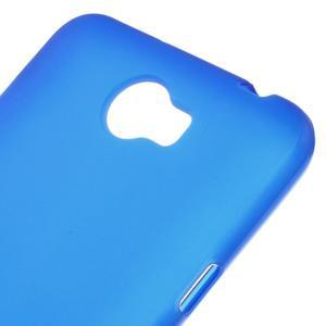 Matný gelový obal na telefon Huawei Y5 II - modrý - 3
