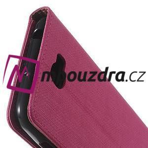 Clothy peněženkové puzdro na Huawei Y5 II - rose - 3