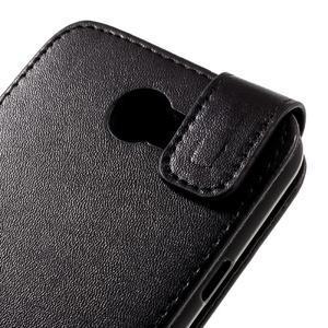 Černé flipové puzdro na Huawei Y5 II - 3