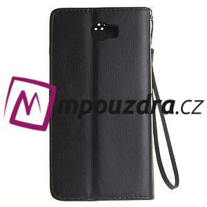 Dandelion PU kožené puzdro na Huawei Y5 II - čierne - 3