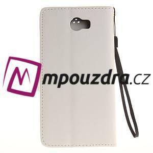 Dandelion PU kožené puzdro na Huawei Y5 II - biele - 3