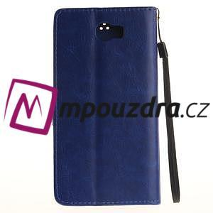 Dandelion PU kožené puzdro na Huawei Y5 II - modré - 3