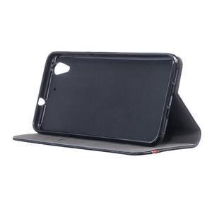 Klopové puzdro na mobil Huawei Y6 II a Honor 5A - černé - 3