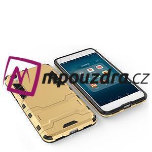 Outdoor odolný obal pre mobil Huawei Y6 II a Honor 5A - zlatý - 3