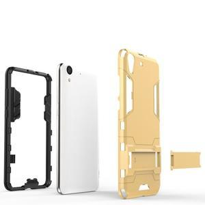 Outdoor odolný obal na mobil Huawei Y6 II a Honor 5A - stříbrný - 3
