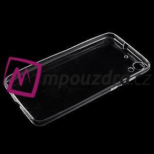 Ultratenký gélový obal na mobil Huawei Y6 II a Honor 5A - transparentní - 3