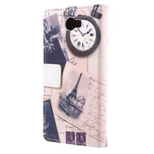 Emotive peňaženkové puzdro na Huawei Y6 II Compact - Eiffelova veža - 3