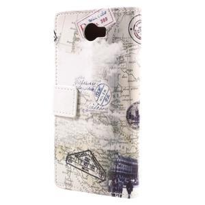 Emotive peňaženkové puzdro na Huawei Y6 II Compact - Pisa - 3