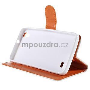 Peňaženkové puzdro na Huawei Ascend G620s - folk - 3